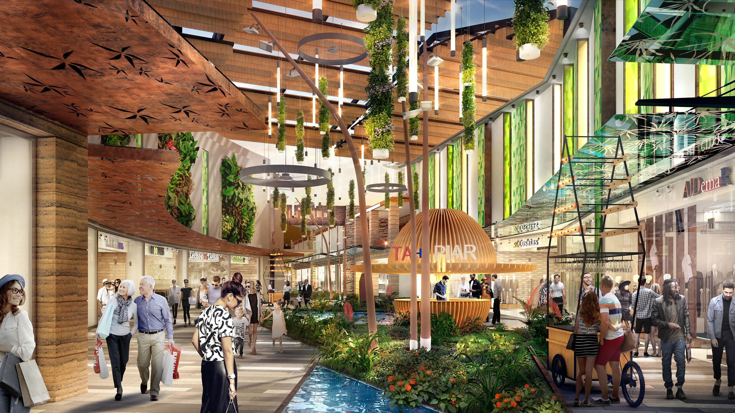 Nuevo centro comercial c cuta colombia for Maquetas de jardines